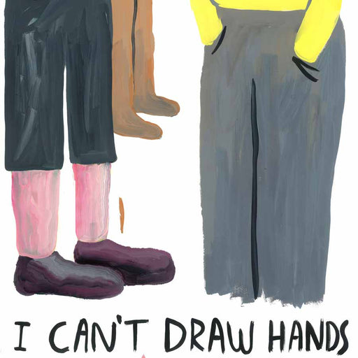 Buy 'I Can't Draw Hands', an original painting by Sasha Violetov at The Biscuit Factory. Shortlisted for the Contemporary Young Artist Award 2020.