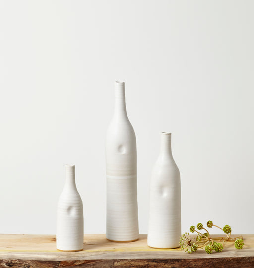 Buy 'Bottle' handmade ceramic homeware by Tone Von Krogh at The Biscuit Factory.