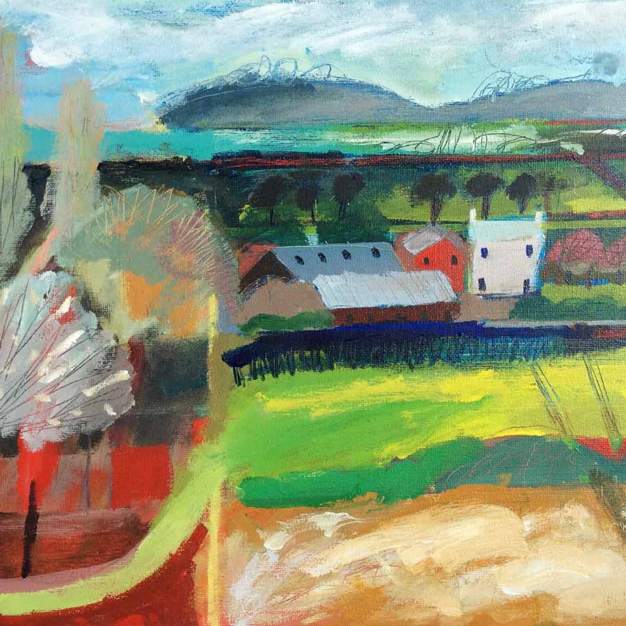 Buy 'View Over Ambo', an original painting by Michael St. Clair at The Biscuit Factory.