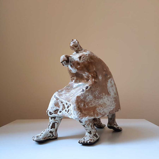 Buy 'Carry your own weight', an original sculpture by Anastassia Zamaraeva at The Biscuit Factory. Shortlisted for the Contemporary Young Artist Award 2020.
