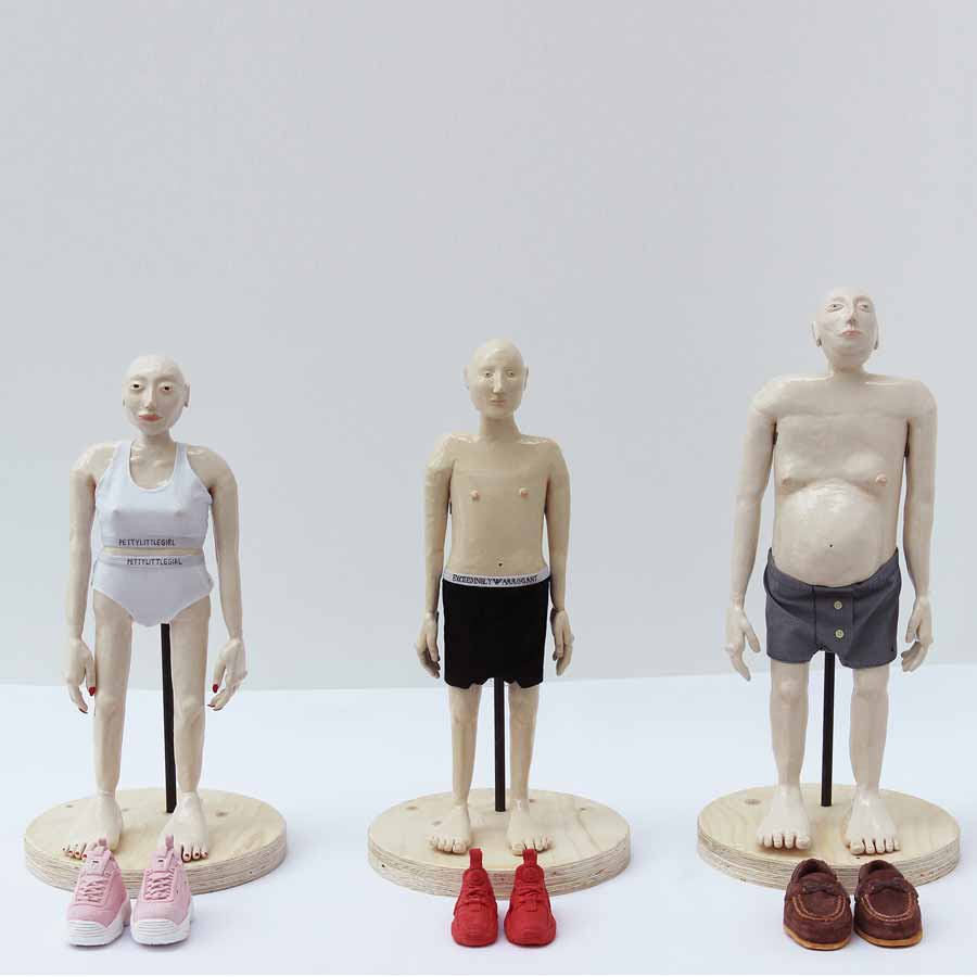 Buy 'If the shoe fits', an original sculpture by Millie Suu-kyi Holland at The Biscuit Factory. Shortlisted for the Contemporary Young Artist Award 2020.
