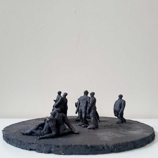 Buy 'Gathering I', an original sculpture by Anastassia Zamaraeva at The Biscuit Factory. Shortlisted for the Contemporary Young Artist Award 2020.
