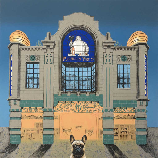 Buy 'Wes Anderson's Dog, Michelins Building', an original print by Mychael Barratt at The Biscuit Factory