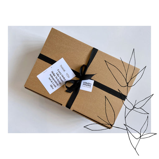 Buy exclusive curated gift boxes at The Biscuit Factory online - sustainable and unique gifts that support local artists. The Wildling Maker's Parcel is the perfect present for the countryside rambler and nature lover.