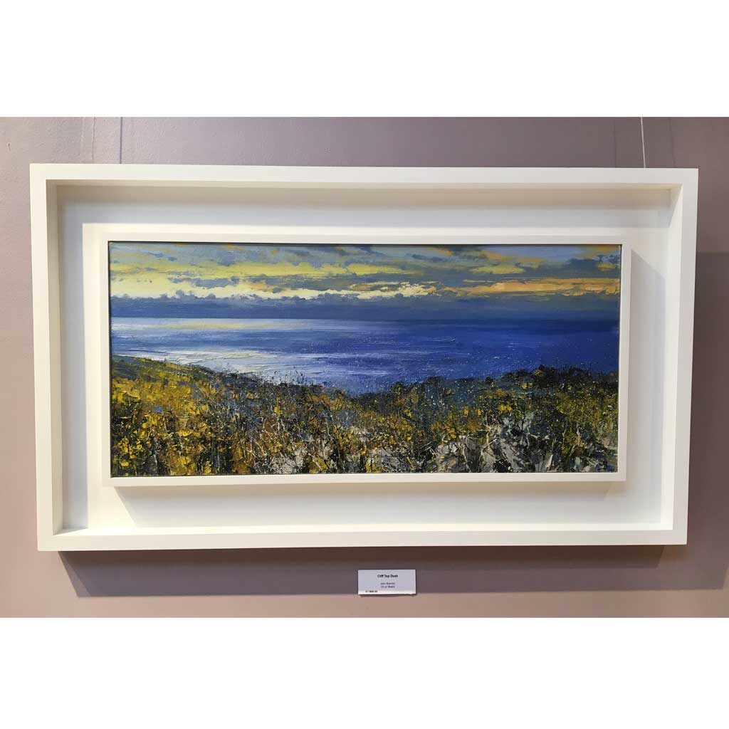 Original landscape painting by John Brenton at The Biscuit Factory.