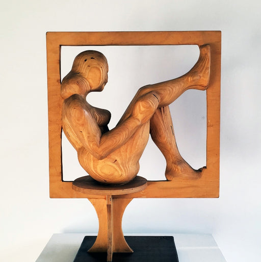 Original sculpture by Malcolm Yorke at The Biscuit Factory