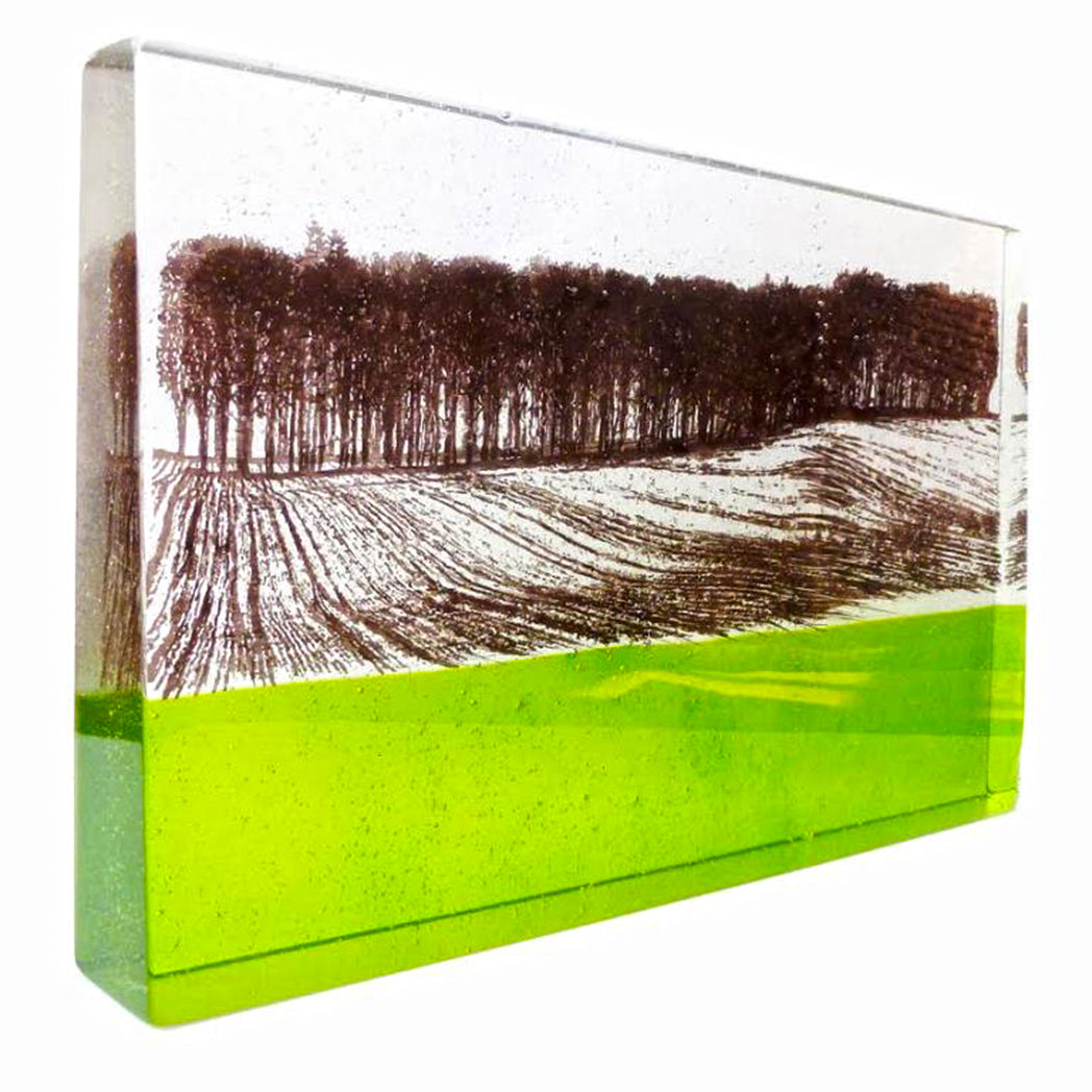 Original glass by Helen Slater at The Biscuit Factory.