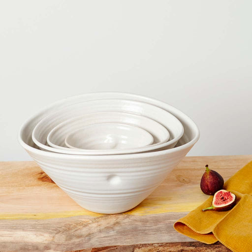 Buy 'set of nesting Bowls' handmade ceramic homeware by Tone Von Krogh at The Biscuit Factory