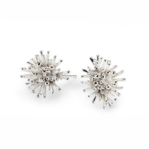 Buy 'Sea Urchin Earrings', handmade jewellery by Hannah Bedford at The Biscuit Factory