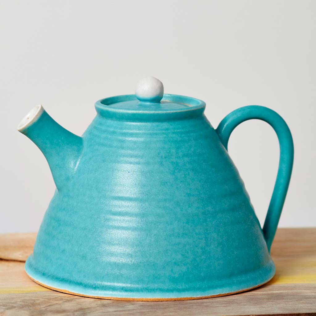 Buy 'Teapot' handmade ceramic homeware by Tone Von Krogh at The Biscuit Factory