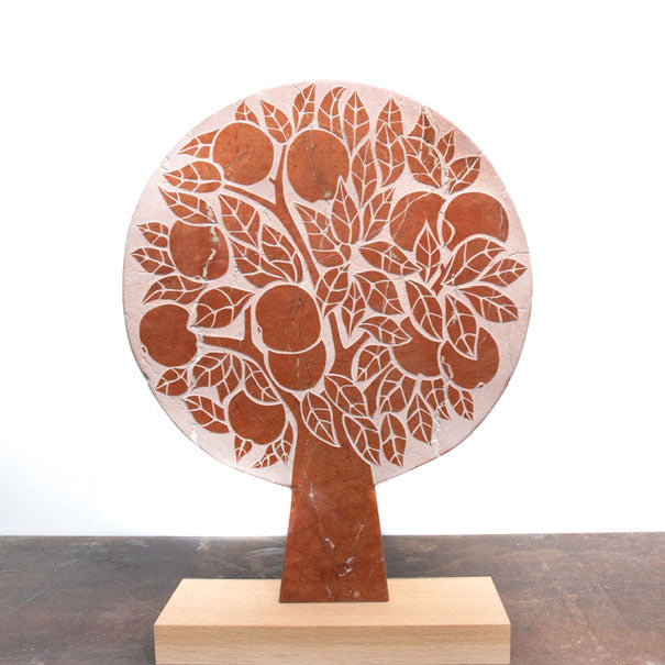 Buy 'Orange Tree', a handmade marble sculpture by Michael Disley at The Biscuit Factory