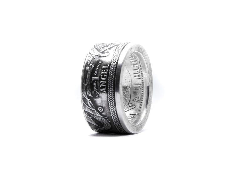 2015 Isle of Man Silver Angel - Minted Jewellery