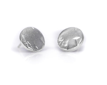 Silver Coin Earring (Stud) - Minted Jewellery