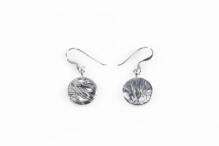 Silver Coin Earring (drop) - Minted Jewellery