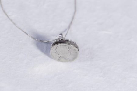 Open Coin Diffuser Locket - Minted Jewellery