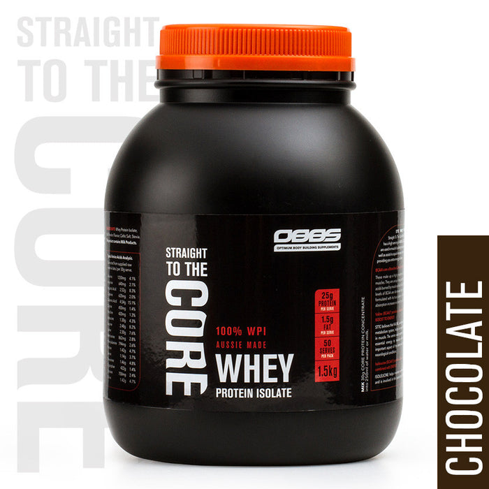 Whey Protein Isolate Chocolate - 1.5KG