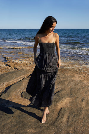 Beach dress in Black