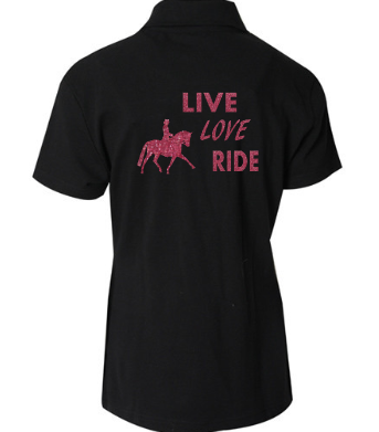Live-Love-Ride-Childs-Design-Polo-Shirt
