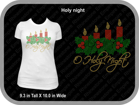 Silent-Night-Christmas-T-Shirt-Design-