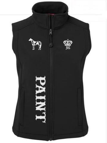 Paint soft shell vest