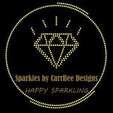 Sparkles by CarrBee design custom order