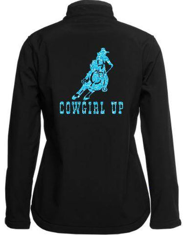 Cowgirl up soft shell Jacket
