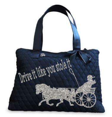 Drive-It-Like-You-Stole-It-Small-Horse_Tote Bag