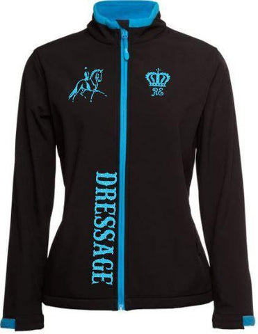 Dressage-Black-Design-Soft-Shell-Jacket