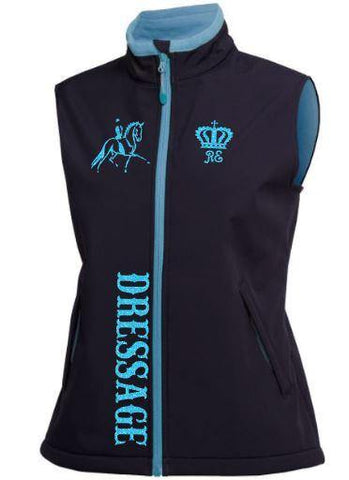 Dressage soft shell vest
