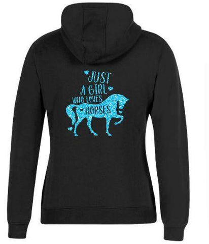 Just-A-Girl-Who-Loves-Horses-Design-Hoodie-Hooded-Jumper