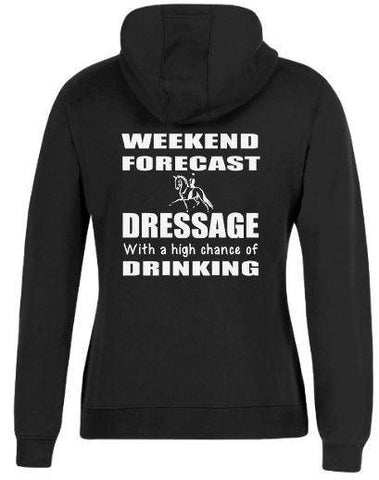 Weekend-Forecast-Dressage-Drinking-Design-Hoodie-Hooded-Jumper