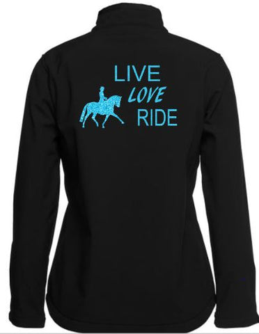 Live love ride soft shell jacket