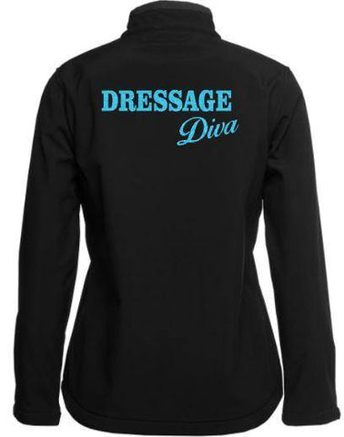 Dressage-Diva-Black-Design-Soft-Shell-Jacket