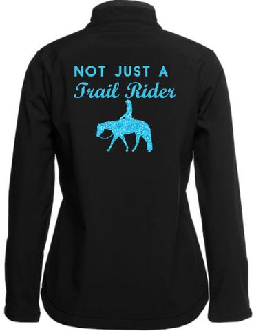 Not-Just-A-Trail-Rider-Design-Soft-Shell-Jacket