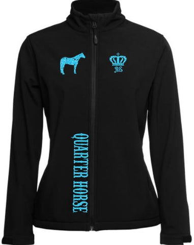 Quarter-Horse-Design-Soft-Shell-Jacket