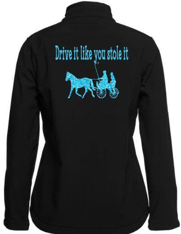 Drive-It-Like-You-Stole-It-Black-Design-Soft-Shell-Jacket