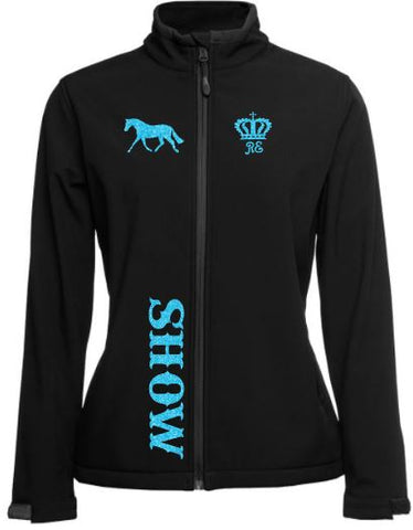 Show-Pony-Trot-Design-Soft-Shell-Jacket