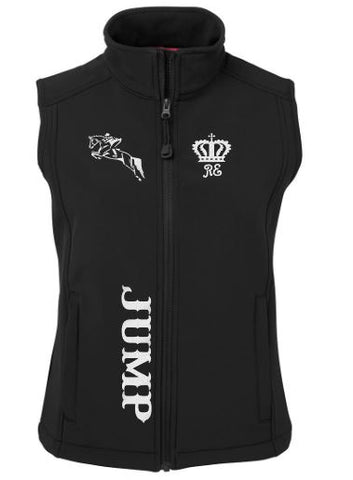 Jump soft shell vest
