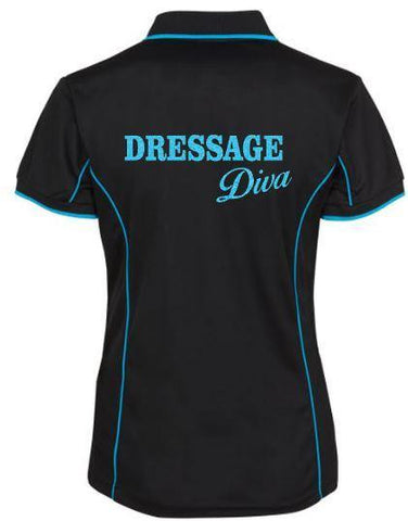 Dressage-Diva-Design-Polo-Shirt