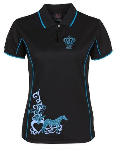 Mini Scroll  polo shirt