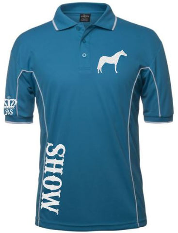 Show mini horse polo shirt Unisex sizes