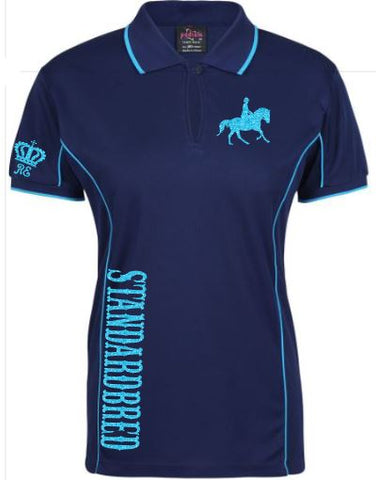 Standardbred polo shirt