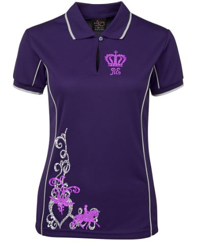 Ridden-Scroll-Design-Polo-Shirt