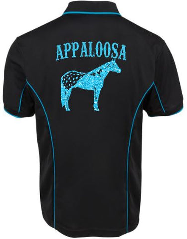 Large Appaloosa polo shirt Unisex sizes