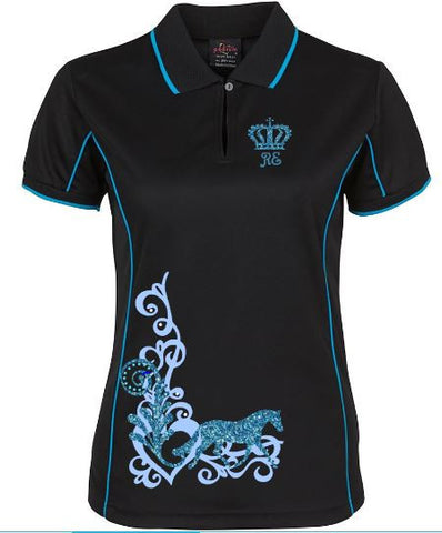 Trot-Scroll-Design-Polo-Shirt