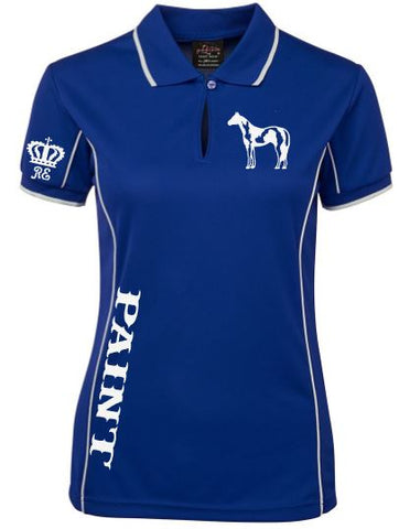Paint polo shirt