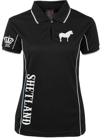 Shetland polo shirt Unisex sizes
