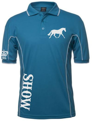 Show trot pony polo shirt Unisex sizes