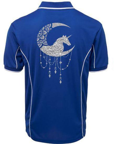 Unicorn-Moon-Design-Polo-Shirt