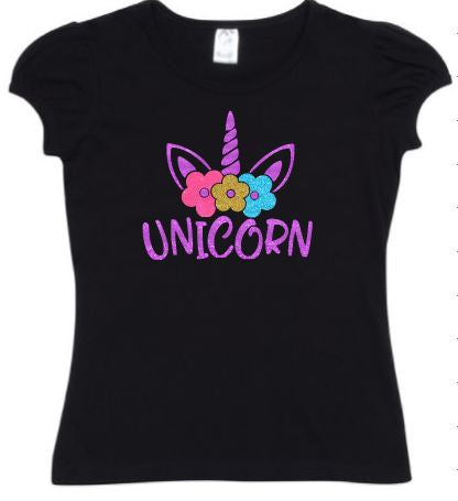 Unicorn-Puff-Cap-T-Shirts-Design-